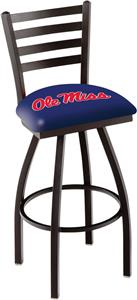University of Mississippi Ladder Swivel Bar Stool