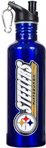 NFL Pittsburgh Steelers Blue Water Bottle