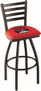 Univ of Nevada Las Vegas Ladder Swivel Bar Stool