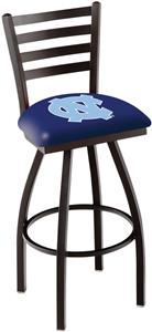 Univ of North Carolina Ladder Swivel Bar Stool