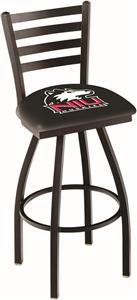 Univ of Northern Illinois Ladder Swivel Bar Stool