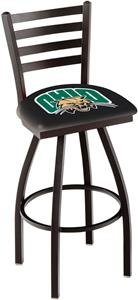 University of Ohio Ladder Swivel Bar Stool