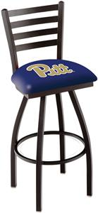 University of Pittsburgh Ladder Swivel Bar Stool
