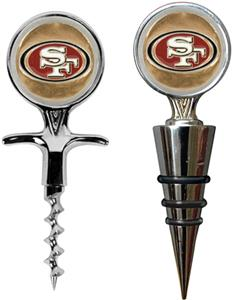NFL San Francisco 49ers Cork Screw & Bottle Topper