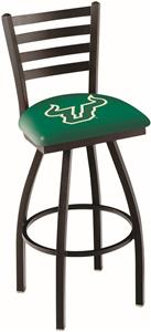Univ of South Florida Ladder Swivel Bar Stool