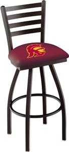 Univ Southern California Ladder Swivel Bar Stool