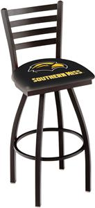 Univ Southern Mississippi Ladder Swivel Bar Stool