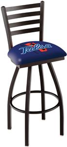 University of Tulsa Ladder Swivel Bar Stool