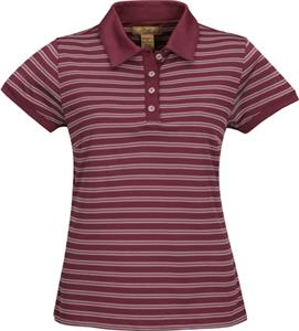 TRI MOUNTAIN Mesa Women&#39;s Ultra Cool Striped Polo