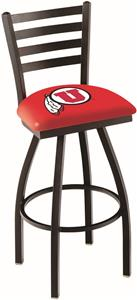 University of Utah Ladder Swivel Bar Stool