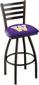 University of Washington Ladder Swivel Bar Stool