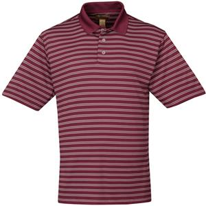 TRI MOUNTAIN Solano Ultra Cool Striped Polo