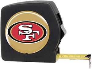 NFL San Francisco 49ers 25' Tape Measure w/Logo