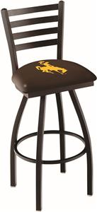 University of Wyoming Ladder Swivel Bar Stool