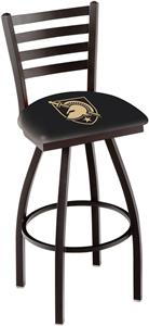 US Military Academy Ladder Swivel Bar Stool