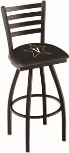 Vanderbilt University Ladder Swivel Bar Stool