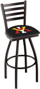 Virginia Military Inst Ladder Swivel Bar Stool