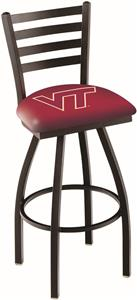 Virginia Tech University Ladder Swivel Bar Stool