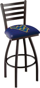 West Virginia University Ladder Swivel Bar Stool