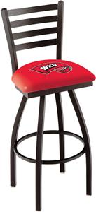 Western Kentucky Univ Ladder Swivel Bar Stool