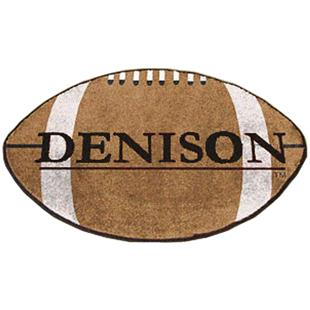 Fan Mats Denison University Football Mat