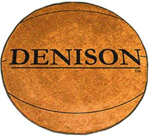 Fan Mats Denison University Basketball Mat