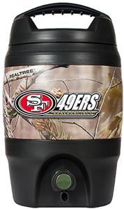 NFL San Francisco 49ers 1gal Realtree Tailgate Jug