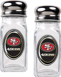 NFL San Francisco 49ers Salt and Pepper Shaker Set