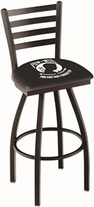 Holland POW/MIA Ladder Swivel Bar Stool