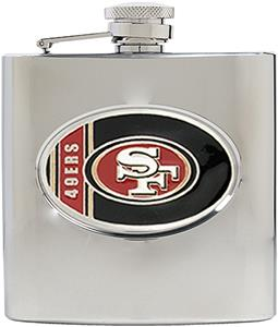 NFL San Francisco 49ers 6oz Stainless Steel Flask