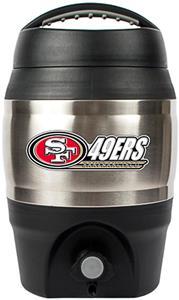 NFL San Francisco 49ers 1 gallon Tailgate Jug