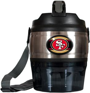 NFL San Francisco 49ers 80oz. Grub Jug