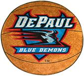 Fan Mats DePaul University Basketball Mat