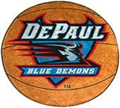 Fan Mats DePaul University Basketball Mat