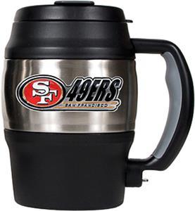 NFL San Francisco 49ers Mini Jug w/Bottle Opener