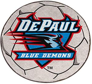 Fan Mats DePaul University Soccer Ball