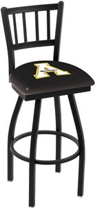 Appalachian State Univ Jailhouse Swivel Bar Stool