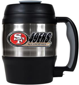 NFL San Francisco 49ers 52oz Macho Travel Mug
