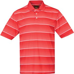 TRI MOUNTAIN Anderson Ultra Cool Wide Stripe Polo
