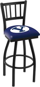 Brigham Young Univ Jailhouse Swivel Bar Stool