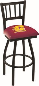 Central Michigan Univ Jailhouse Swivel Bar Stool