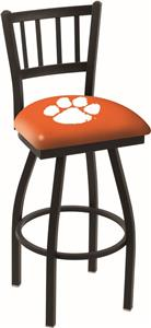 Holland Clemson Jailhouse Swivel Bar Stool