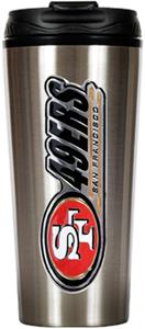 NFL San Francisco 49ers 16oz Travel Tumbler