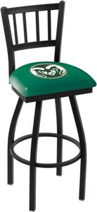 Colorado State Univ Jailhouse Swivel Bar Stool