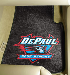 Fan Mats DePaul University Carpet Car Mats
