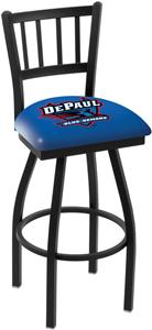 DePaul University Jailhouse Swivel Bar Stool