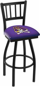 East Carolina Univ Jailhouse Swivel Bar Stool