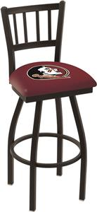 "Florida State ""Head"" Jailhouse Swivel Bar Stool"
