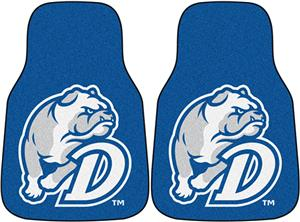 Fan Mats Drake University Carpet Car Mats (set)