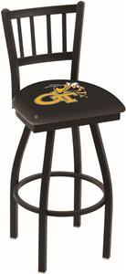Georgia Tech Jailhouse Swivel Bar Stool